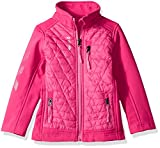 Reebok Girls' Active Outerwear Jacket,Glacier Shield Fuchsia,14/16
