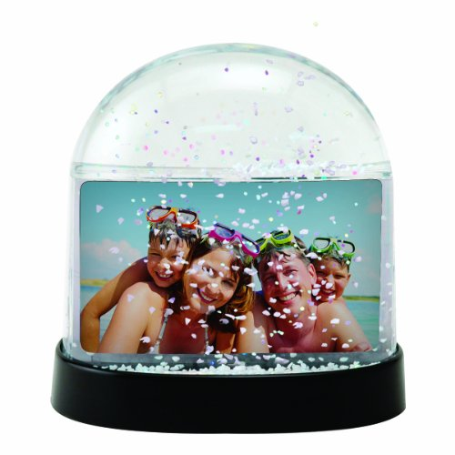 Horizontal Photo Snow Globe (Clear) (Snowglobe Photo)