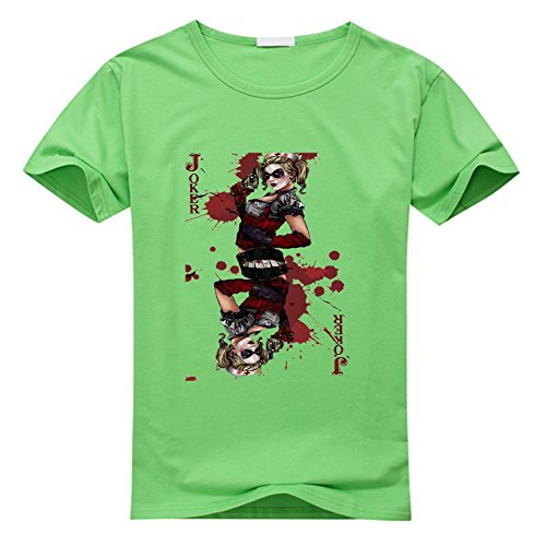 DIY Joker Men's Short Sleeve Plus Size T Shirt