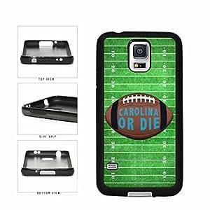Carolina or Die Football Field TPU RUBBER SILICONE Phone Case Back Cover Samsung Galaxy S5 I9600 wangjiang maoyi by lolosakes
