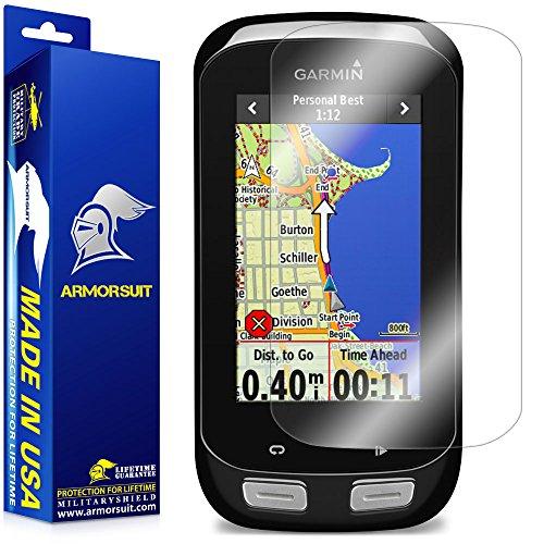 ArmorSuit Garmin Edge 1000 Screen Protector Full Coverage MilitaryShield Anti-Bubble Screen Protector Compatible w Garmin Edge 1000 GPS - HD Clear