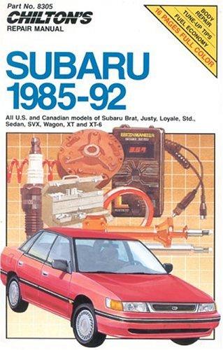 subaru-1985-92-chiltons-repair-manuals