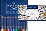Faber-Castell Art GRIP Aquarelle Watercolor Pencil Set, Tin of 36 Pencils