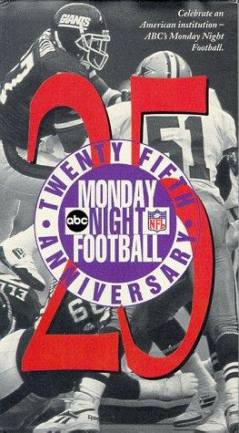 Abcs Monday Night Football Twenty Fifth Anniversary   Vhs
