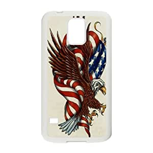 American flag free Eagle PC Hard Plastic phone Case Cover For Samsung Galaxy S5 JWH9114258