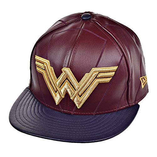 - New Era 59Fifty Wonder Woman Character Armor Fitted Hat Batman V Superman BVS (7 1/2)