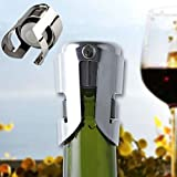 Tools & Accessories - Stainless Steel Champagne Wine Stopper Sealer Sparkling Wine Bottle Plug - Bubbly - 1PCs