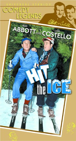 Abbott & Costello: Hit the Ice [VHS] -
