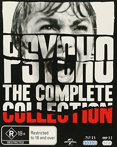 Psycho Collection Blu-Ray Boxset