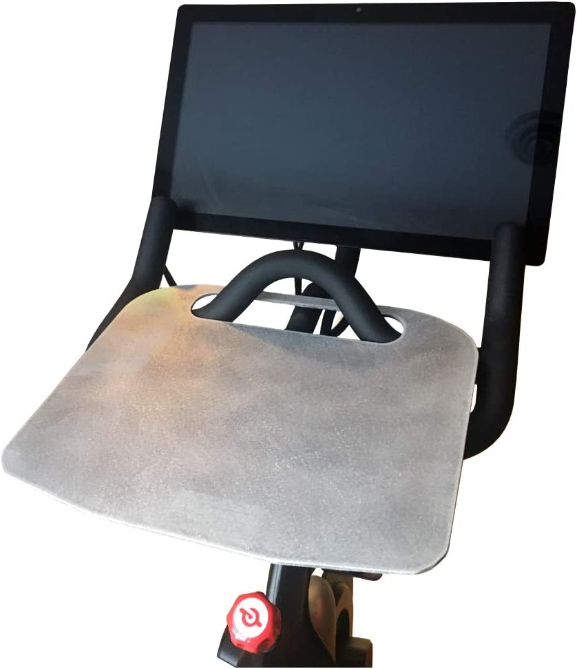 TJERNLUND PeloTray Table Top Peloton Tray for Stationary Exercise Bikes, Notebook Laptop Stand Arm Holder While Biking
