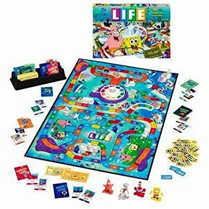 The Game Of Life Bikini Bottom Spongebob Squarepants Edition
