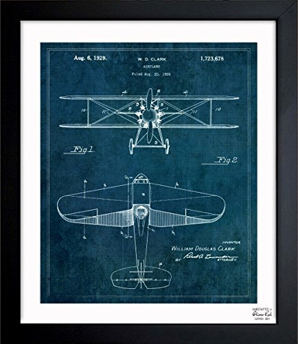 vintage airplane blueprint - 4