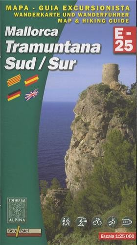 Descargar Libro Tramuntana Sud, Mapa Excursionista. Escala 1:25.000. Español, Català, English, Deustch. Alpina Editorial. Vv.aa.
