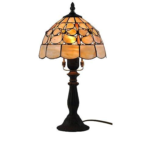 Lampade Stile Tiffany Economiche.Lampada Da Tavolo A Forma Di Conchiglia Con Lampada A