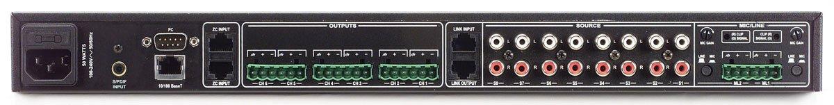 dbx ZonePro 1260 12x6 Digital Zone Processor with 1 Year Free Extended Warranty