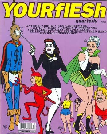 Your Flesh Quarterly Music & Arts Magazine # 34 Winter 1996: Killing Joke, Antioch Arrow, John Tesh, Ken Vandermark, Lee Harvey Oswald Band, more
