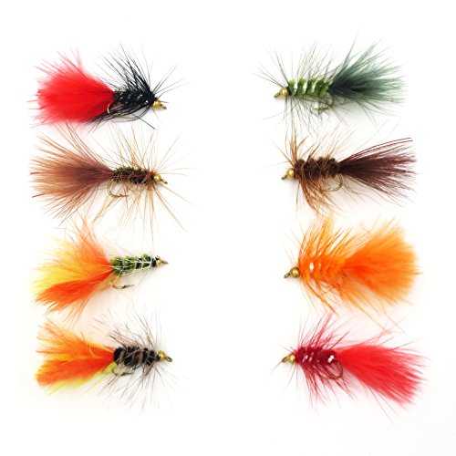 flyafish-32pcs-woll-bug-wet-fly-lure-with-copper-beads