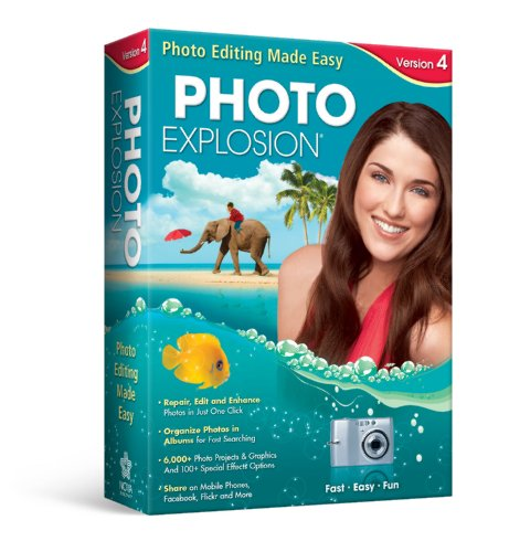Photo Explosion 4.0 [Old Version] (Pro Photo Cd)
