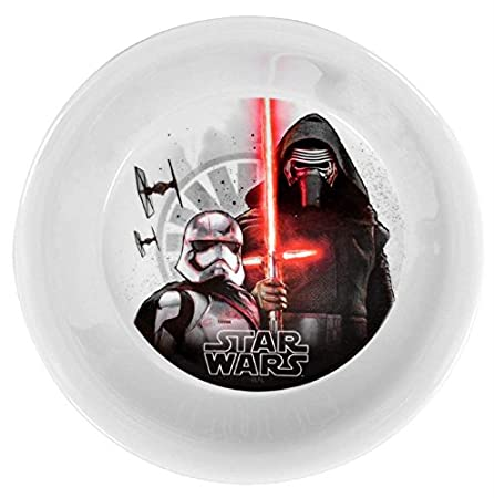 Star Wars The Force Awakens 3-Piece Dinner Set | Tumbler, Bowl and Plate | Episode 7: Amazon.es: Juguetes y juegos