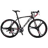 EUROBIKE XC550 21 Speed 49 Cm Frame Road Bike 700C 3-Spoke Wheels Dual Disc...