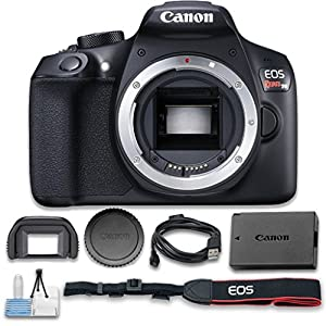 Canon EOS Rebel T6 Digital SLR Camera (Body Only) Wi-Fi Enabled – International Version