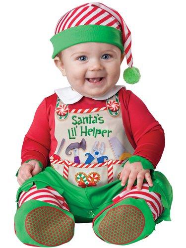 Baby Santa's Little Helper Costume sz 6-12