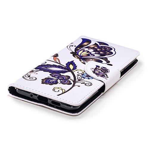 BONROY Cuir Nokia Housse PU 1 3 Flip 2018 Coque YYxR1rw