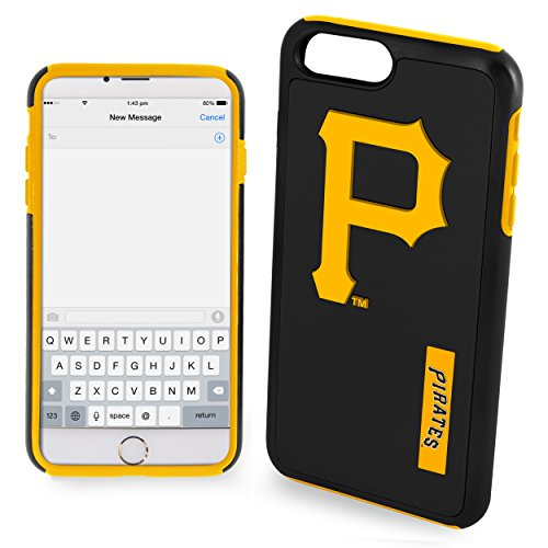 (FOCO Pittsburgh Pirates Impact Dual Hybrid Ai7+/8+ Cover - Tpu - Plus 5.5