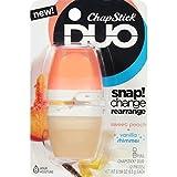 ChapStick Duo Shimmer Blister Card, Peach/Vanilla, 0.194 Ounce