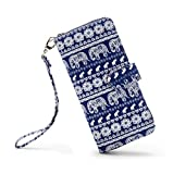 LOVESHE Women's Small Elehpent Bohemian Style Purse Clutch Bag Card Holder New Fashion (SmallX)