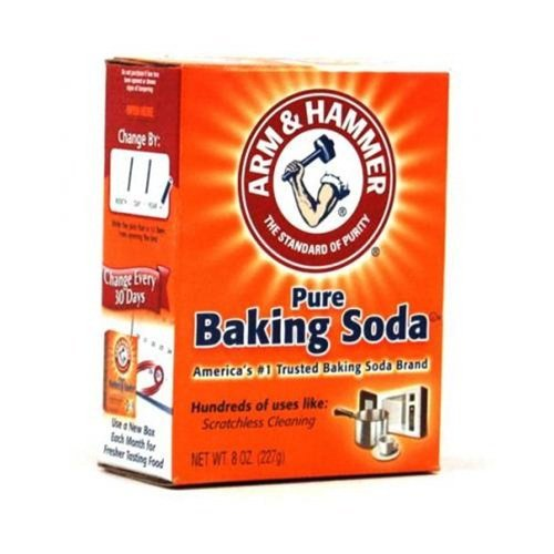 Arm and Hammer CD-01130-12 Baking Soda 8 oz. Box - 12 in Case by Arm & Hammer
