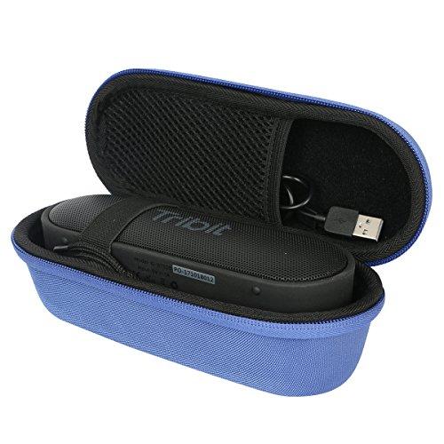 khanka Hard Travel Case for Tribit XSound Go Portable Bluetooth Speaker (Blue)