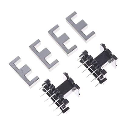 cacys store 5sets ee25 5 5pin transformer bobbin pc40 ferrite core Pin Transformer 6.6Kv cacys store 5sets ee25 5 5pin transformer bobbin pc40 ferrite core vertical 10