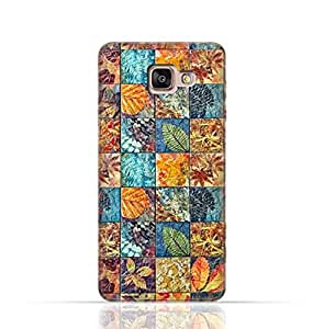 Samsung Galaxy A5 2017 TPU Silicone Case with Old Handcraft Tile Pattern
