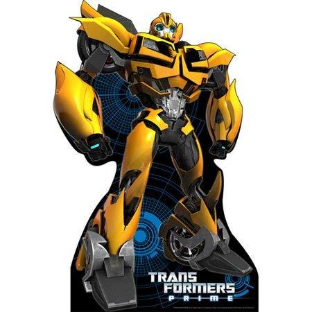 Large Realistic Bumblebee Transformers Cardboard Standee]()