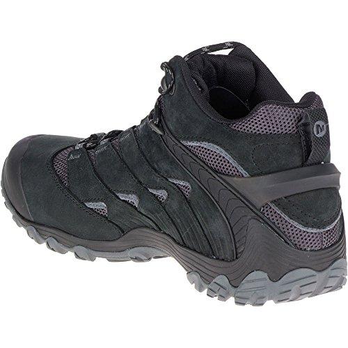Merrell Chameleon 7 Mid Gore-Tex Zapatos de senderismo Hombre Sneaker J98273 BLACK Black