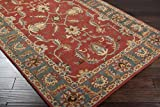 Surya Caesar CAE-1007 Classic Hand Tufted 100% Wool Red Clay 2'6'' x 8' Traditional Runner