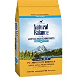 Natural Balance Limited Ingredient Diets, Potato & Duck Formula Dry Puppy Food, 24 Pounds Larger Image
