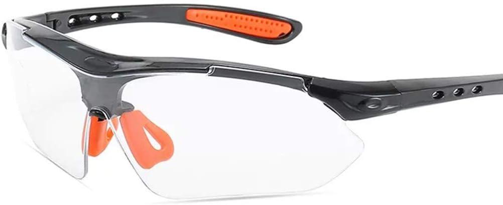 ADUEYE Prevención de Arena a Prueba de Polvo for Adultos Gafas de Ciclismo a Prueba de Viento Gafas de Seguridad de Laboratorio Química Gafas de Seguridad contra Salpicaduras antichoque Anti-Niebla