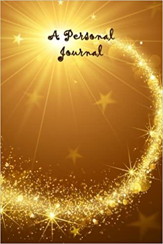 a personal journal magic wand lined journal 6 x 9 160 pages