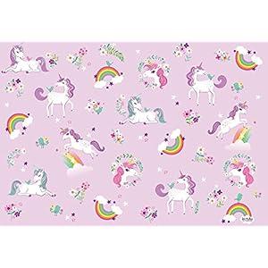 Sea Urchin Studio Gift Wrap Unicorns and Rainbows