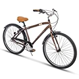 Huffy Mens Commuter Bike, Hyde Park 27.5 inch 3-Speed, Lightweight For Sale