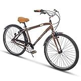 Huffy Mens Commuter Bike, Hyde Park 27.5 inch 3-Speed, Lightweight