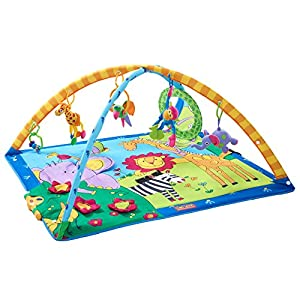 Tiny-Love-Gymini-Super-Deluxe-Activity-Gym-Play-Mat-Classic-Animals