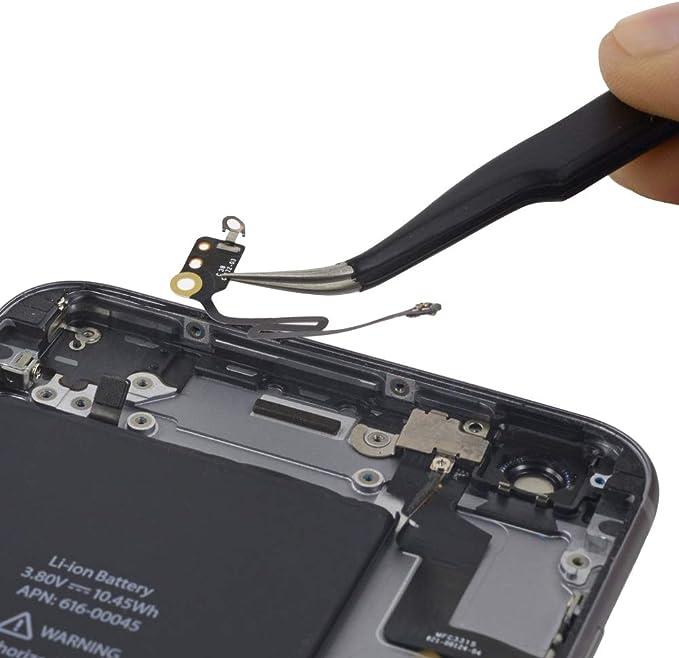 MMOBIEL Cable Flex (Banda/cintilla) para señal de Bluetooth Antena Compatible con iPhone 6 Plus WiFi. Incl. 2 x Destornilladores para fácil ...