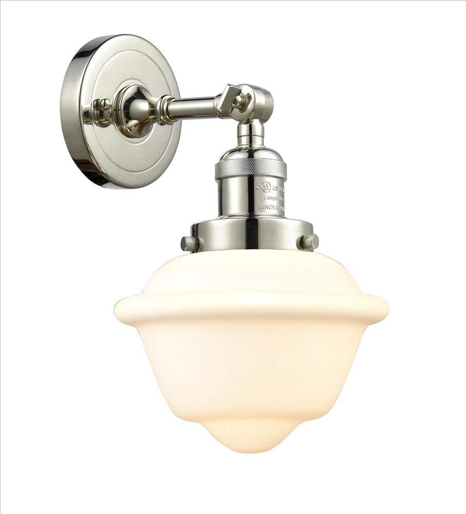 Innovations 201F-PN-G531-LED 1 Light Vintage Dimmable LED Semi-Flush Mount Polished Nickel