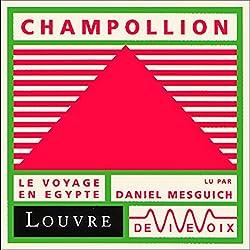 Champollion, le voyage en Egypte