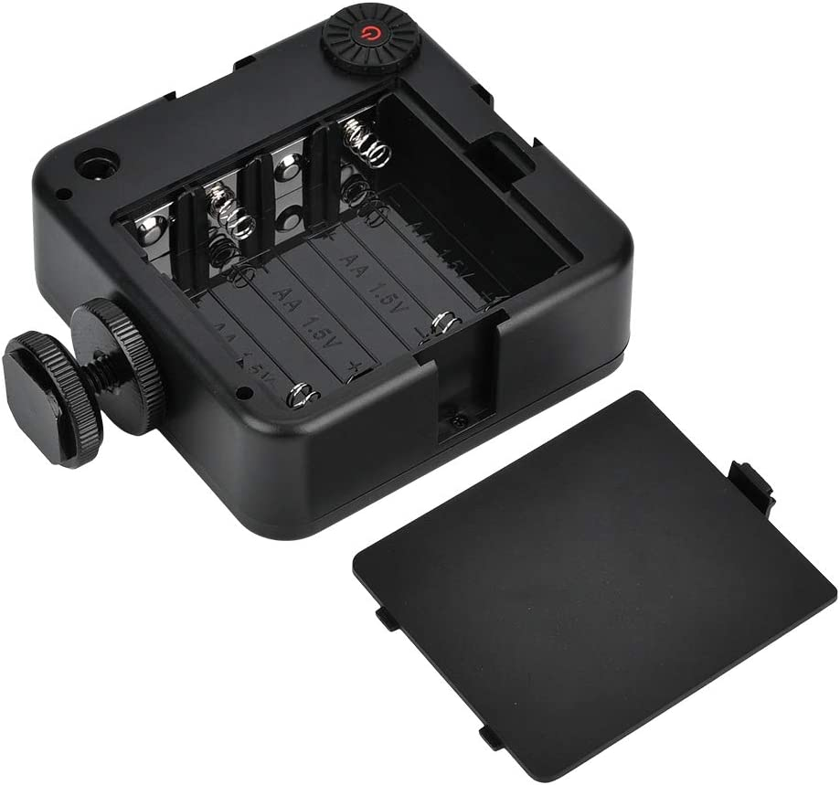 Vbestlife Video Fill Light 6000K LED Light Portable Mini Photography Video Fill Lamp W64 LED Light for Studio,Video Shooting.