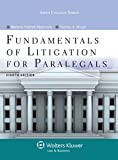 img - for Fundamentals of Litigation for Paralegals, Eighth Edition (Aspen College) book / textbook / text book