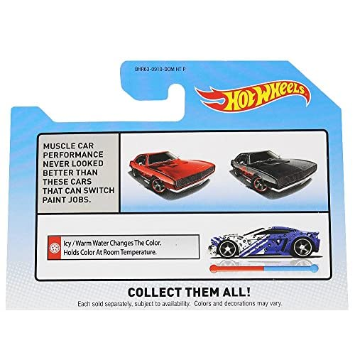 Hot Wheels Color Shifters 67 Camaro Black To Red